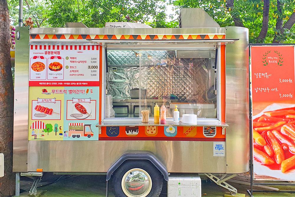 푸드트럭 '공원분식집' - 떡볶이, 핫도그, 소떡꼬치, 순살치킨