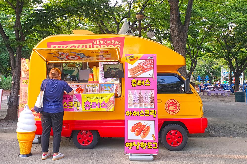 푸드트럭 '마이츄' - 츄러스, 아이스크림, 옛날핫도그
