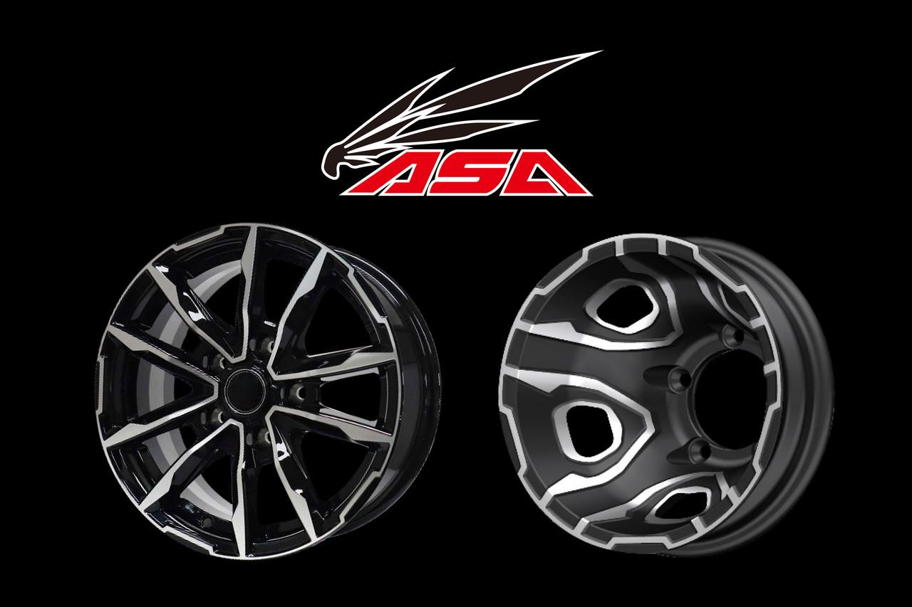 Option 2 - ASA 전륜휠 / 후륜휠 900,000원 (장착비 포함)