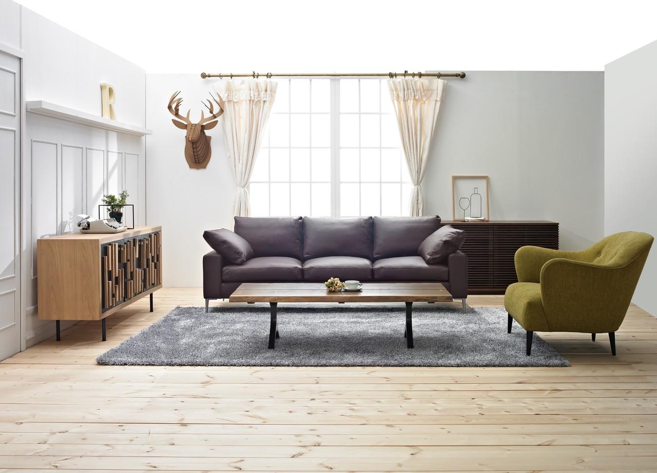 Leather sofa <br>