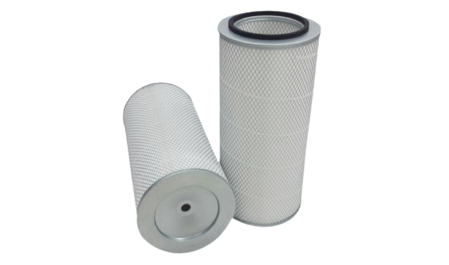 <b>Cylindrical Cartridge Filter<br>(Pulse Type)</b>