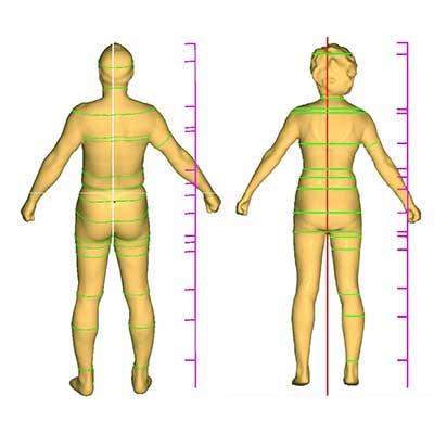 3D 바디스캐너 인체측정학 S/W. PMT Innovation