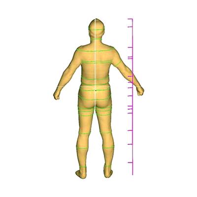 3D Body Scanner. Anthropometry S/W
