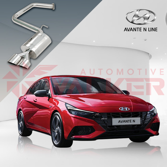 """<p style=""""text-align:left; font-size:16px; margin-top:26px;"""">[Hyundai] Elantra N Line Rear Muffler <br><span style=""""color:#666;"""">$361.29</span></p>"""