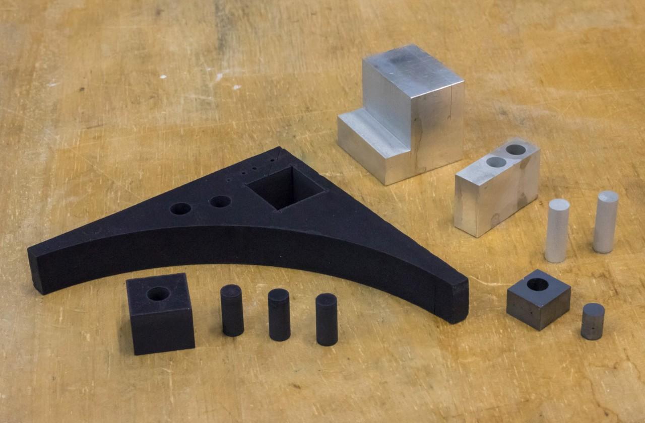Black Ceramic, Aluminum 가공