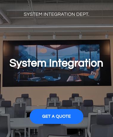 SYSTEM INTEGRATION DEPT.