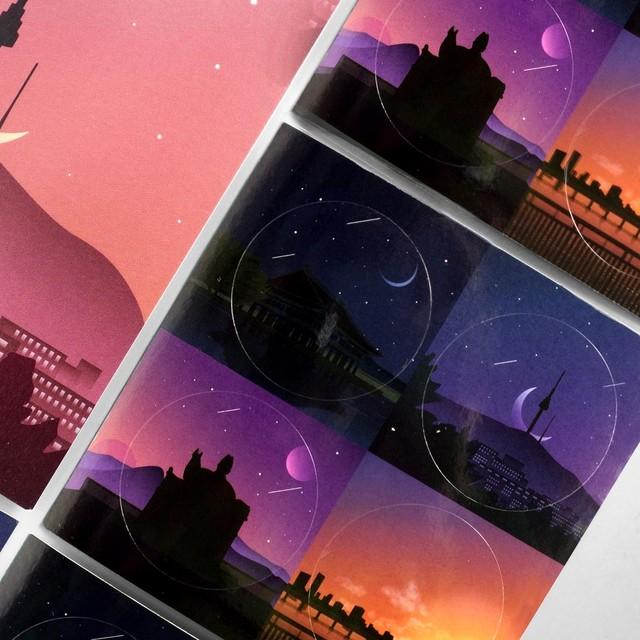 The Night of Seoul Sticker Pack