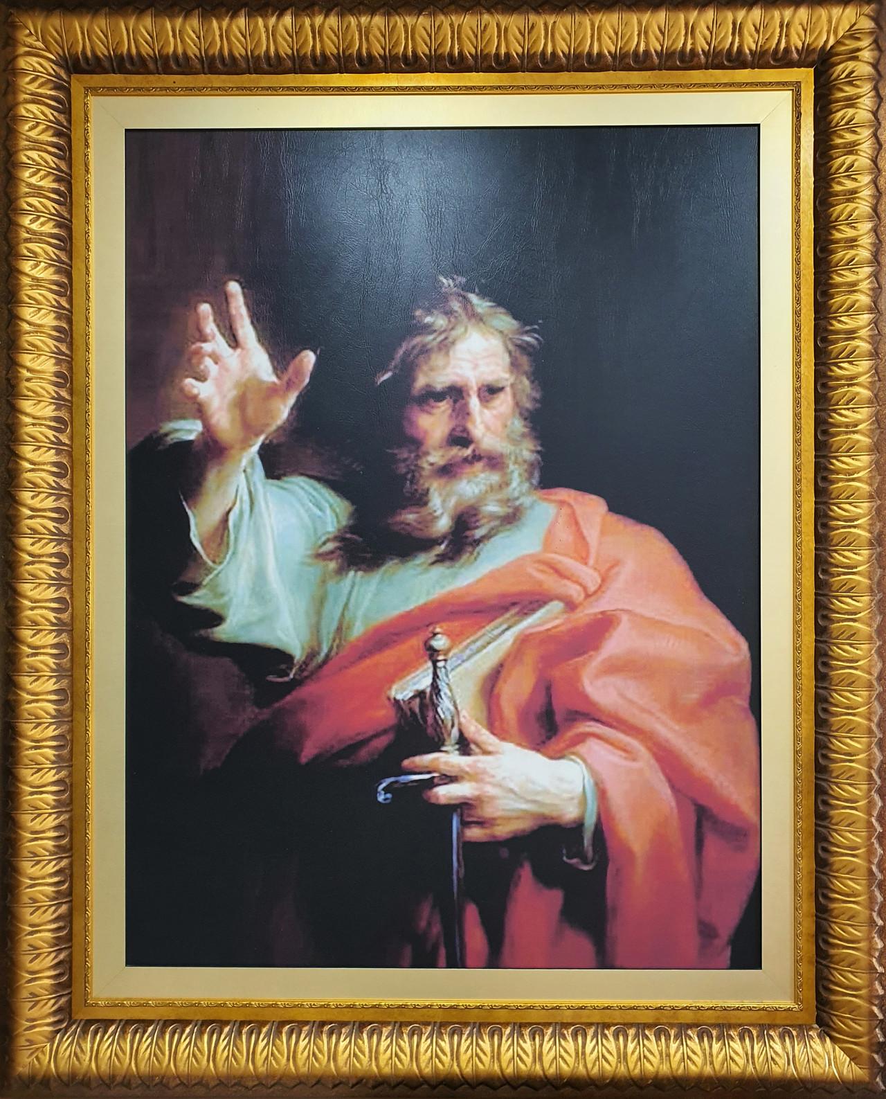 사도 성 바오로 - 2층 성전에 전시된 작품