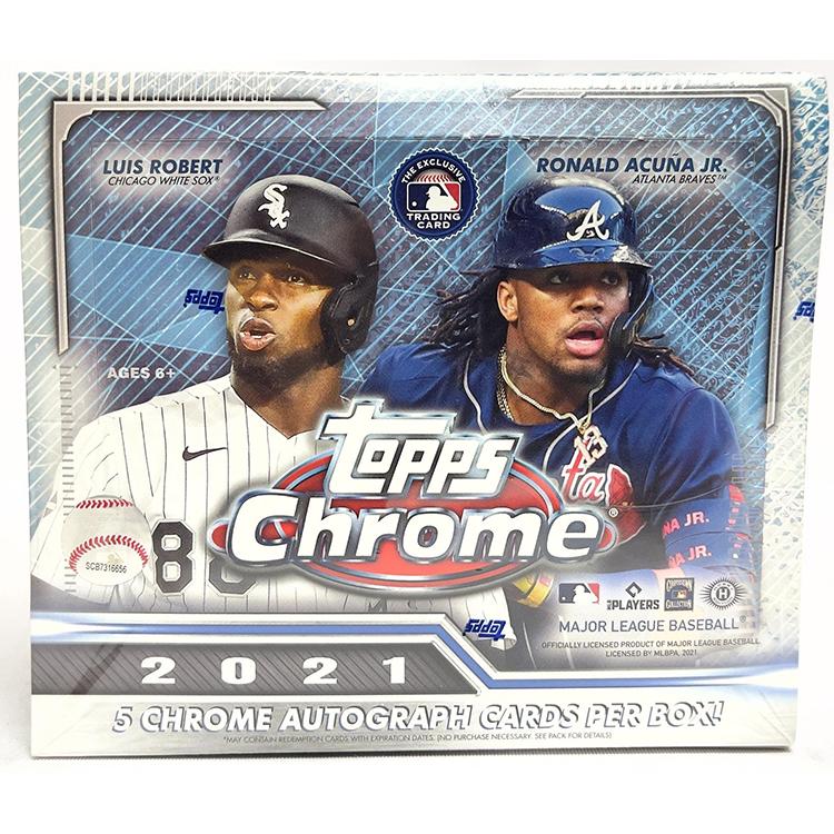 2021 탑스 크롬 베이스볼 점보 박스