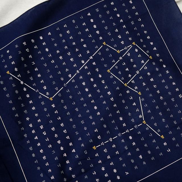 Counting Stars at Night Handkerchief