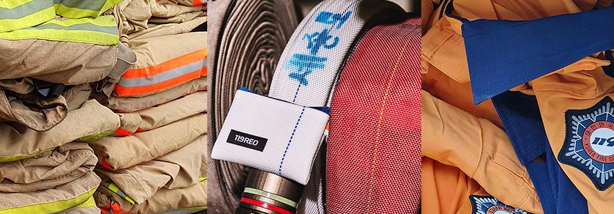 매년 버려지는 소방장비 34톤 소방장비의 새활용! 소방복 뿐만 아니라, 소방호스와기동복을 통해 가방 속에 넣고 다닐 수 있는 제품들을 만듭니다.   특히 소방호스로 만들어진 제품은 여분 없이 재단하여 제로 웨이스트를 지향 합니다.