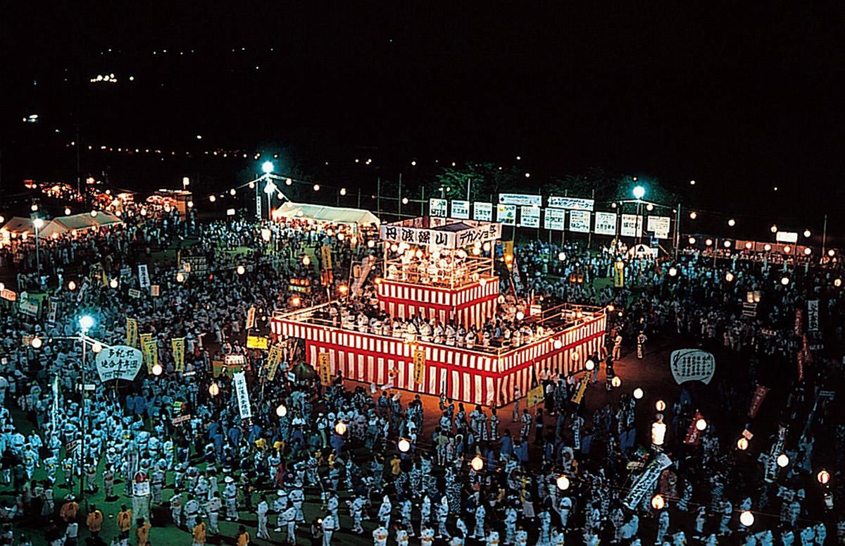 단바 사사야마 데칸쇼마쓰리 축제
