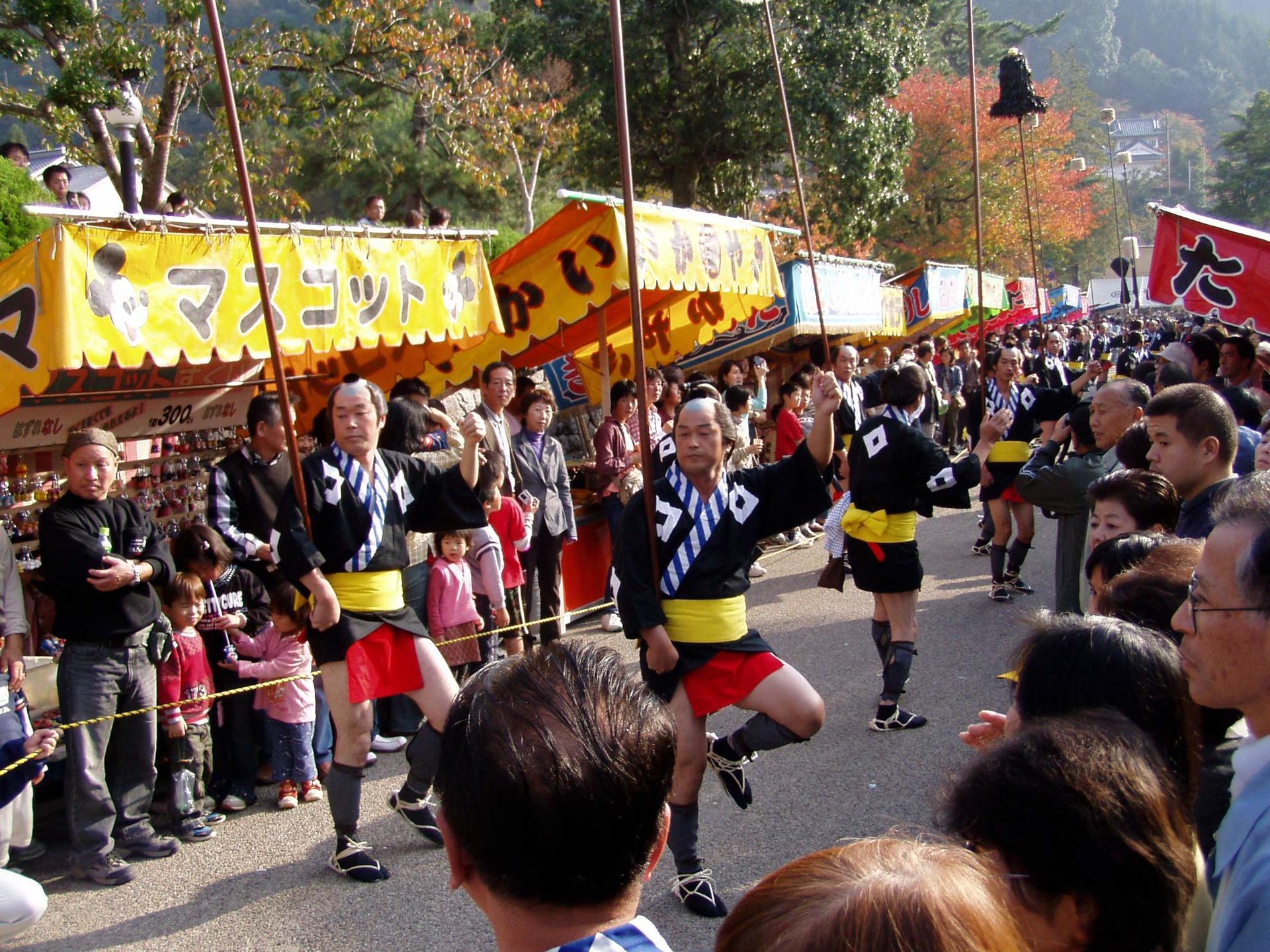 이즈시 오시로마쓰리 축제