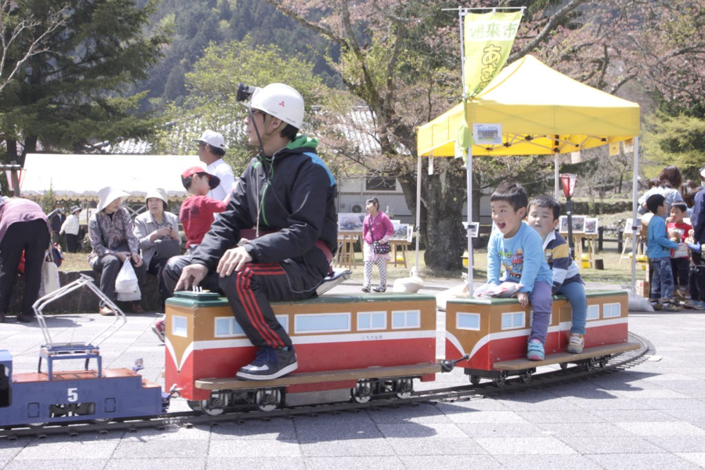 미코바타 선광장 벚꽃 축제