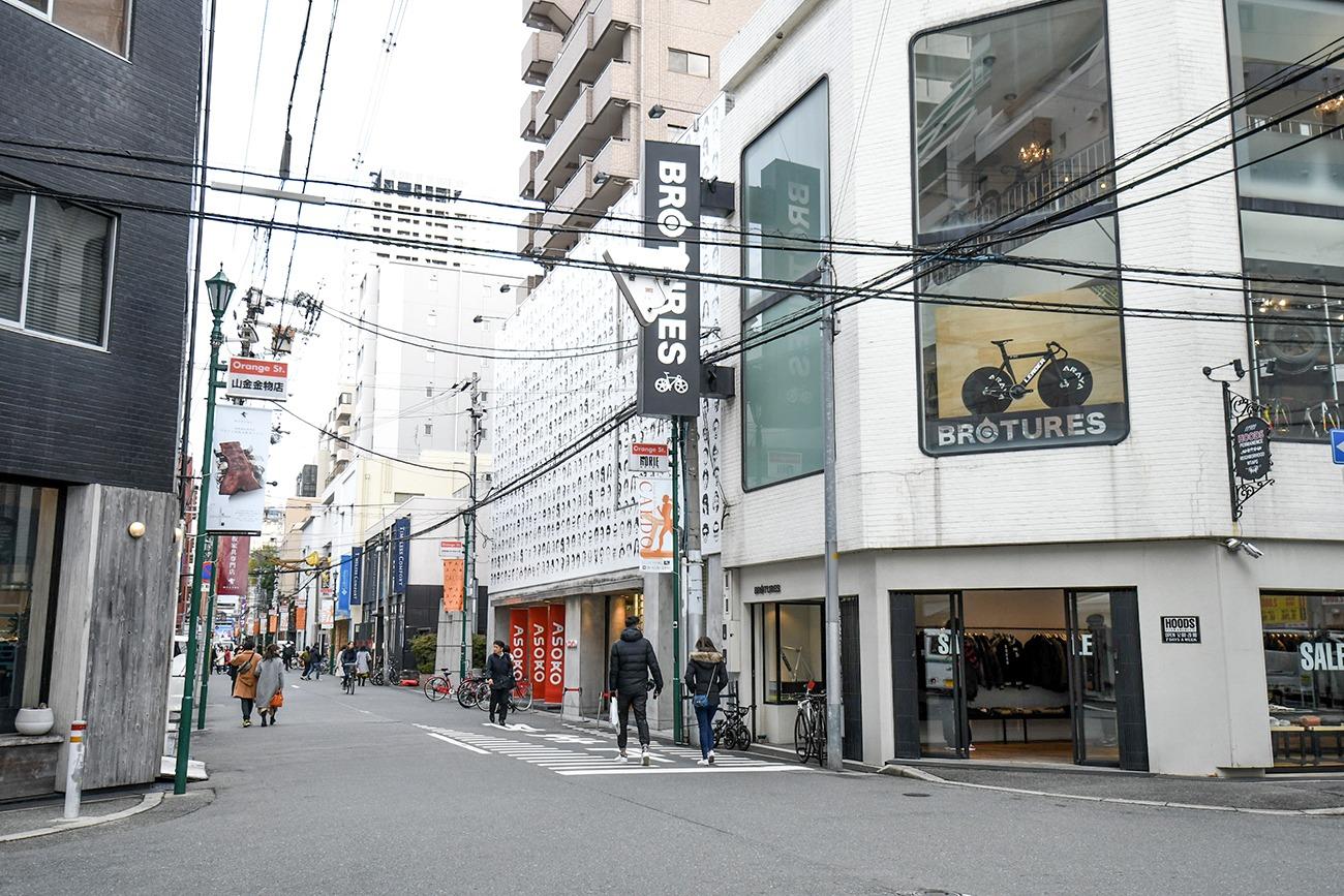 오사카 오랜지 스트리트 거리