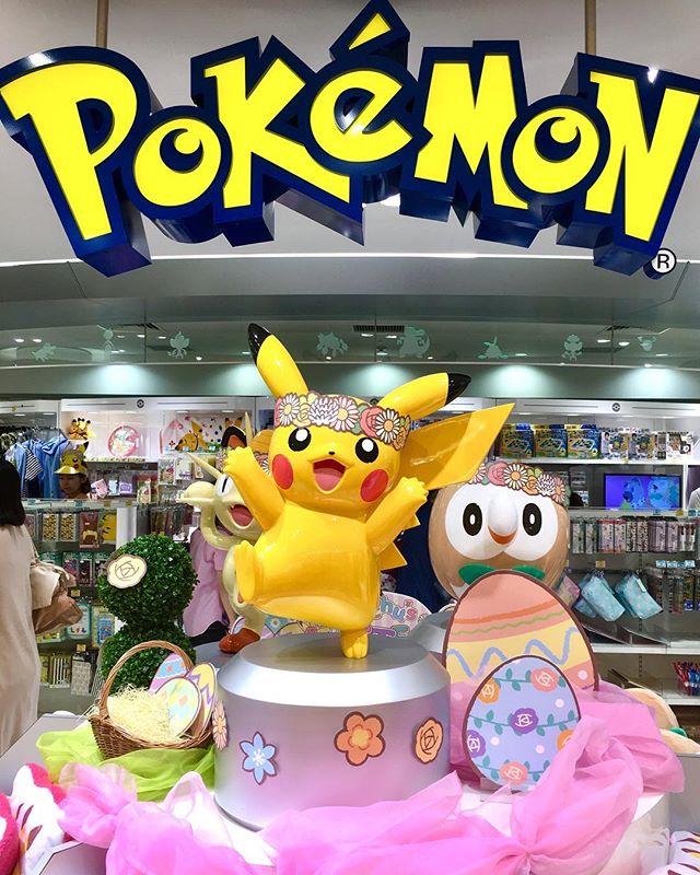 오사카 포켓몬 센터 하와이