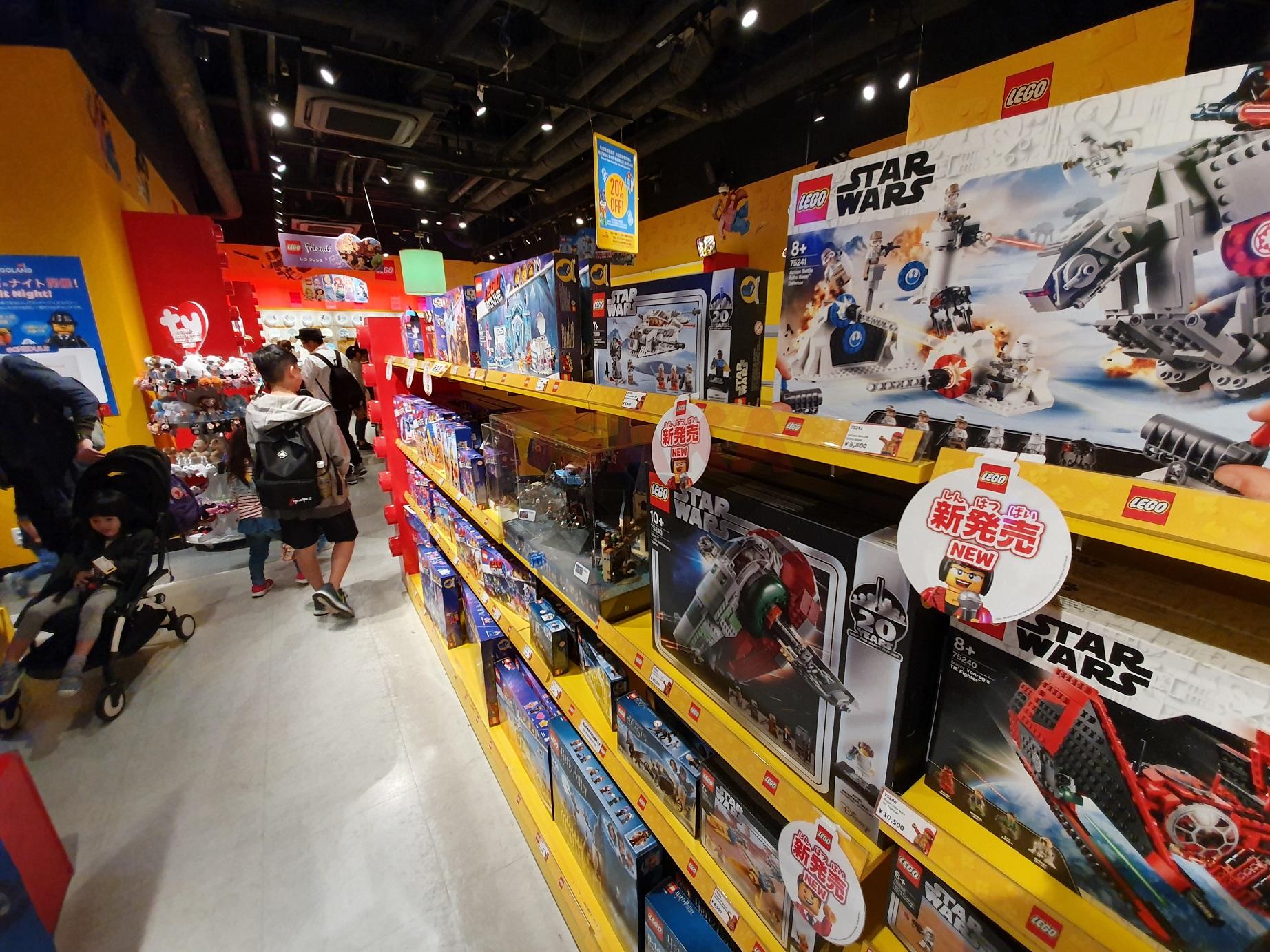 오사카 스타워즈 레고