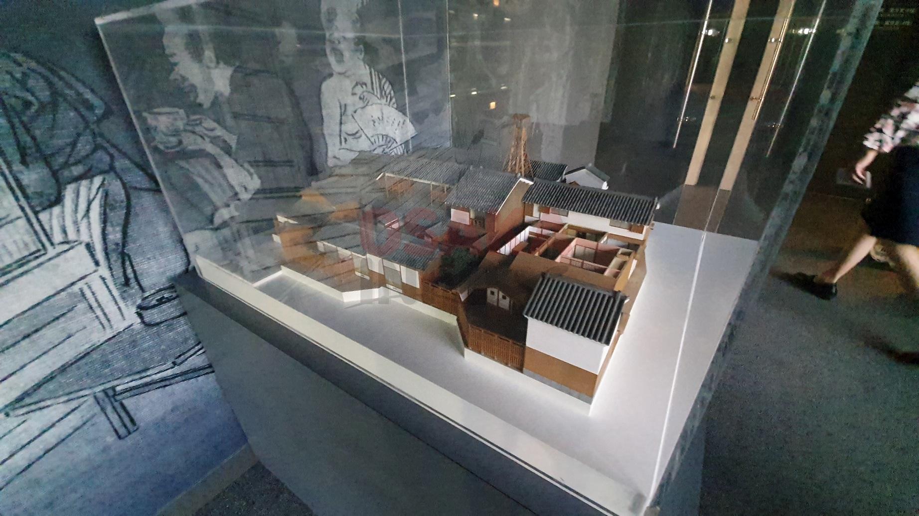 오사카 주택박물관 모형
