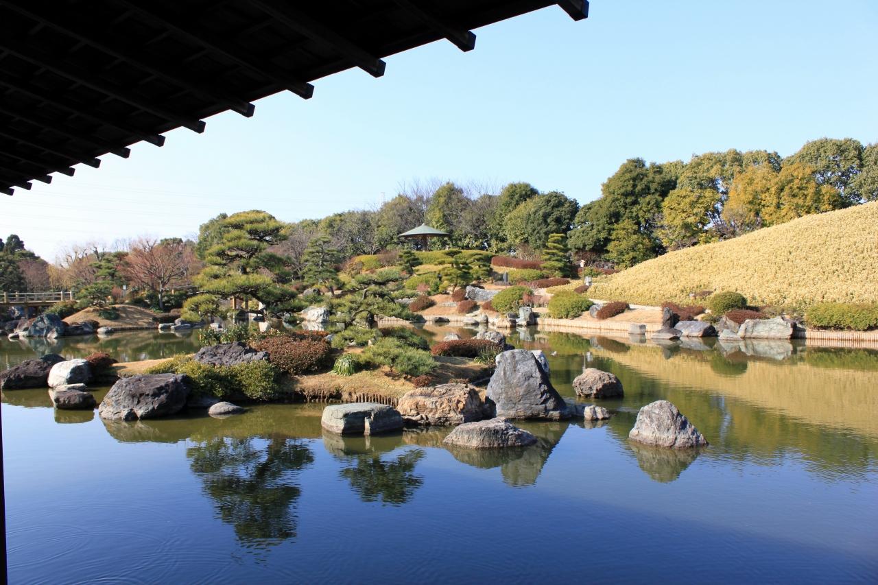 오사카 일본식정원