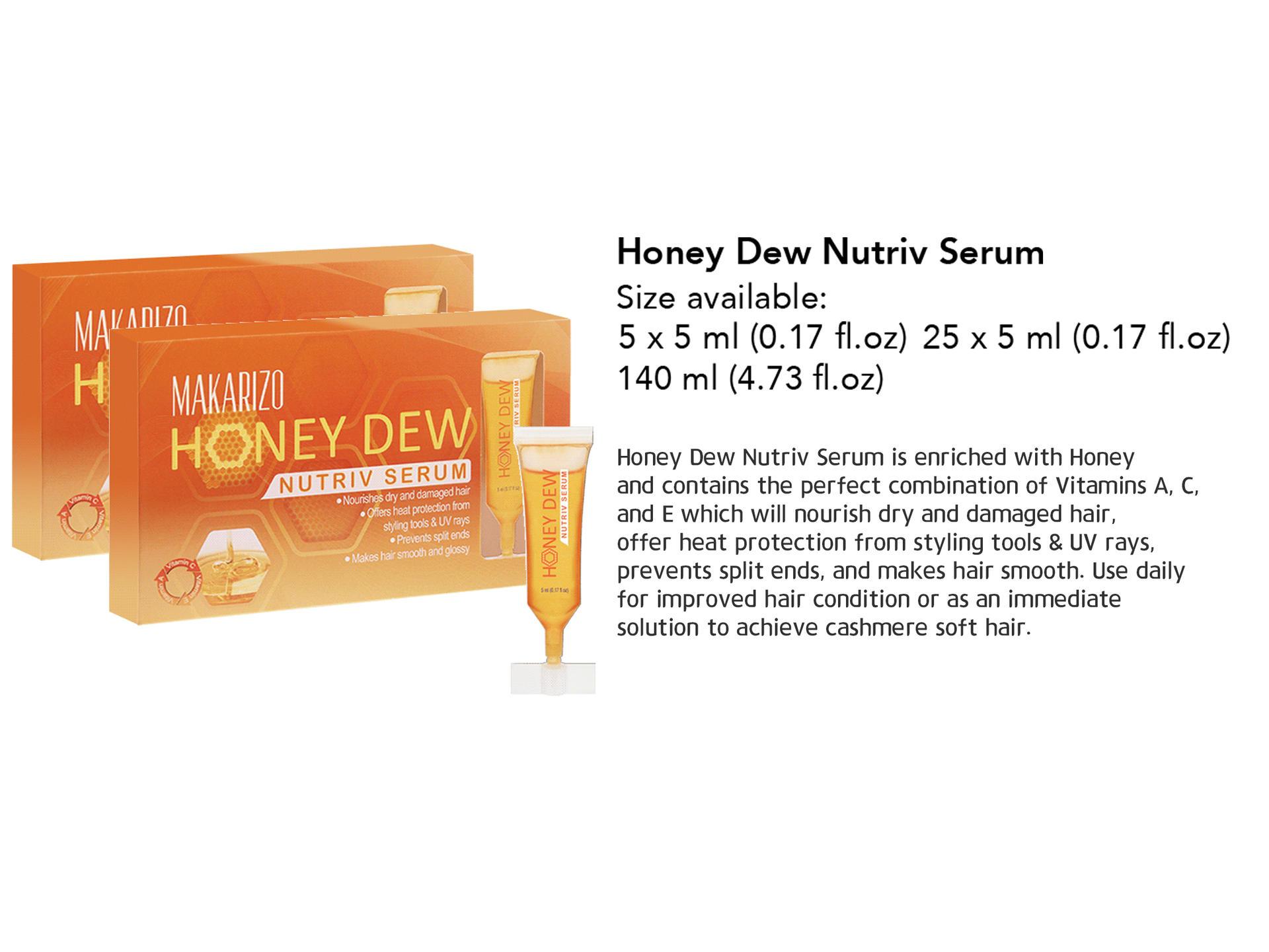 Makarizo Honey Dew Serum Nutriv