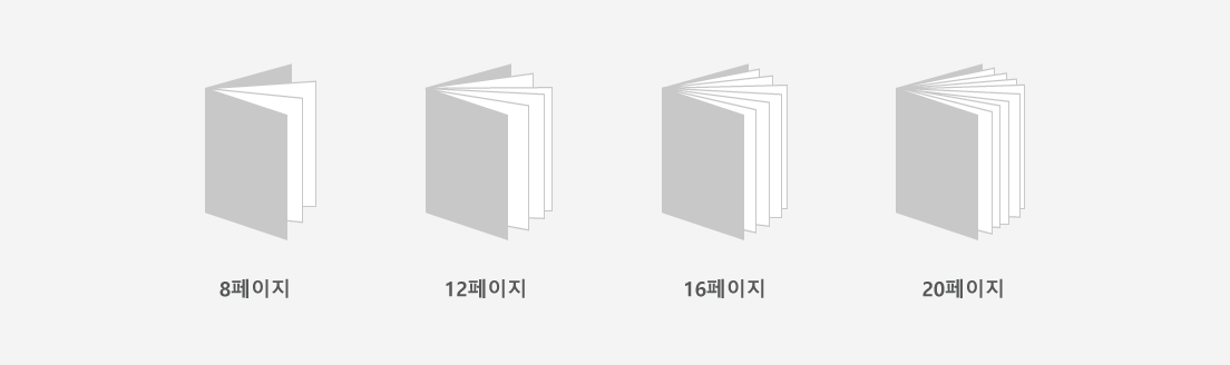 8페이지, 12페이지, 16페이지, 20페이지