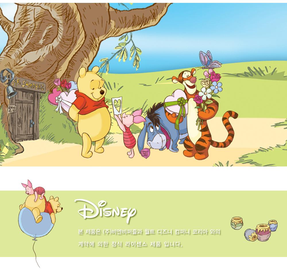 [Disney] 디즈니 곰돌이 푸 판퍼즐(80피스/D80-11) - 퍼즐라이프, 6,500원, 조각/퍼즐, 캐릭터 직소퍼즐