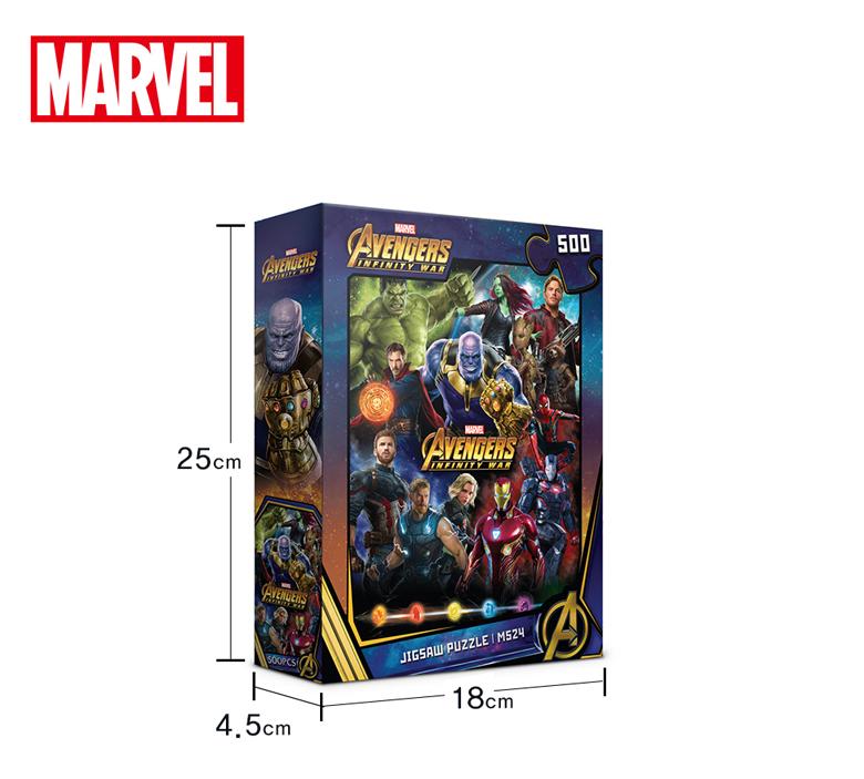 마블 어벤져스 인 피니티 워 직소퍼즐(500피스/M524) - 퍼즐라이프, 14,000원, 조각/퍼즐, 캐릭터 직소퍼즐