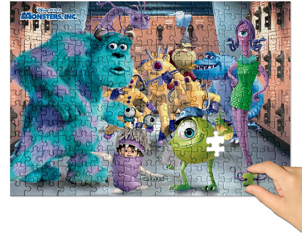 [Disney] 디즈니 몬스터 주식회사 직소퍼즐(500피스/D512) - 퍼즐라이프, 14,000원, 조각/퍼즐, 캐릭터 직소퍼즐