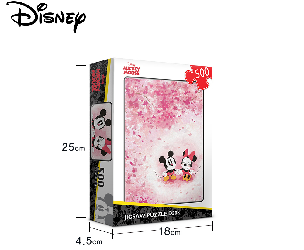 [Disney] 디즈니 미키마우스 봄 직소퍼즐(500피스/D508) - 퍼즐라이프, 14,000원, 조각/퍼즐, 캐릭터 직소퍼즐