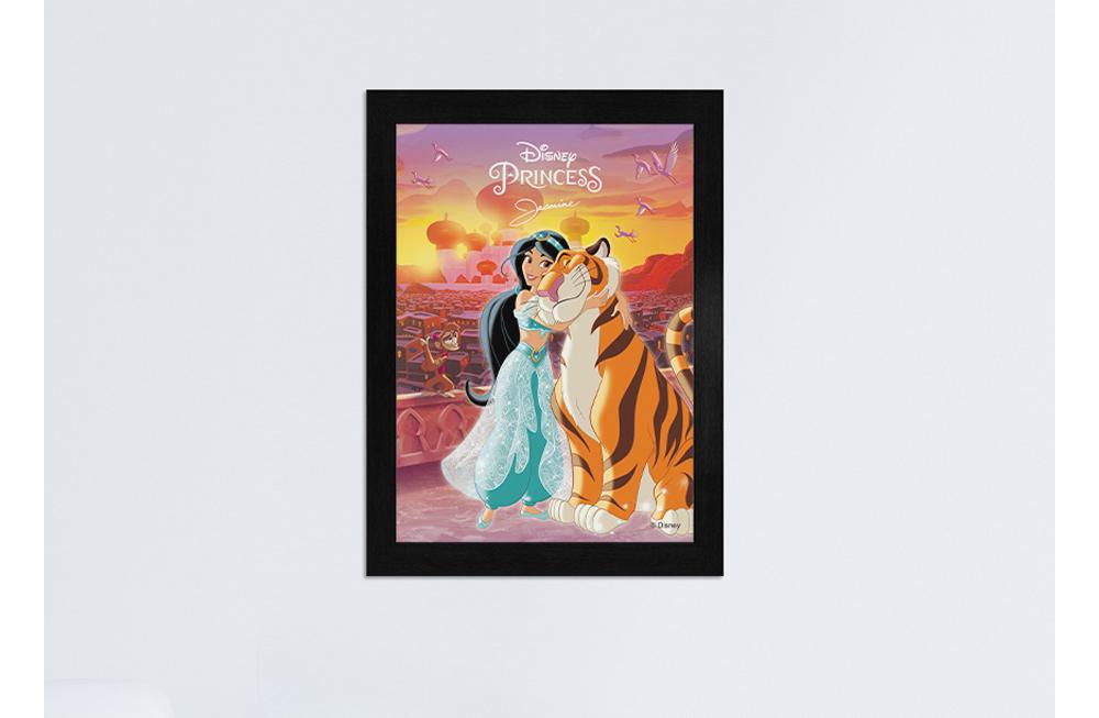 [Disney] 디즈니 알라딘 자스민 직소퍼즐(150피스/D150-4) - 퍼즐라이프, 7,000원, 조각/퍼즐, 캐릭터 직소퍼즐