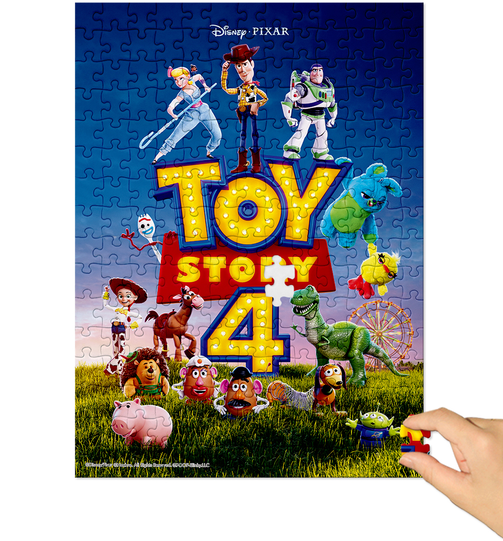 [Disney] 디즈니 토이스토리4 직소퍼즐(500피스/D516) - 퍼즐라이프, 14,000원, 조각/퍼즐, 만화/애니 직소퍼즐