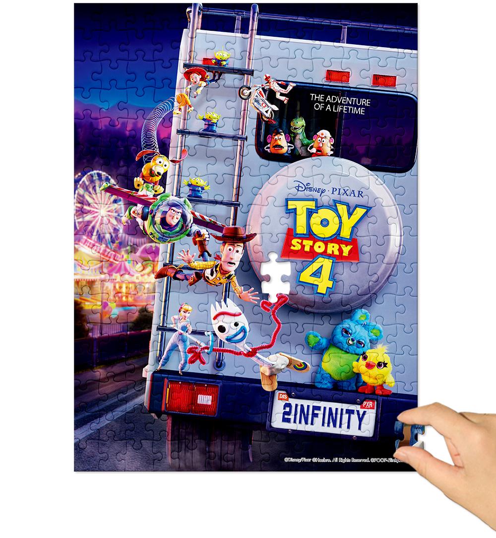 [Disney] 디즈니 토이스토리4 직소퍼즐(빅100피스/D105) - 퍼즐라이프, 14,000원, 조각/퍼즐, 캐릭터 직소퍼즐