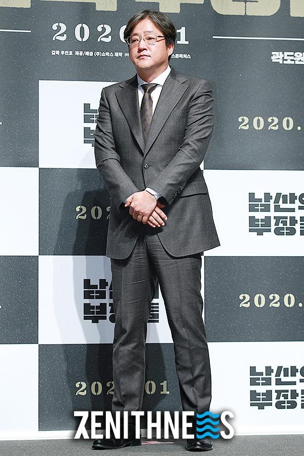 ▲ '남산의 부장들' 곽도원 '오랜만에 서는 공식 석상' (사진=문찬희 기자)