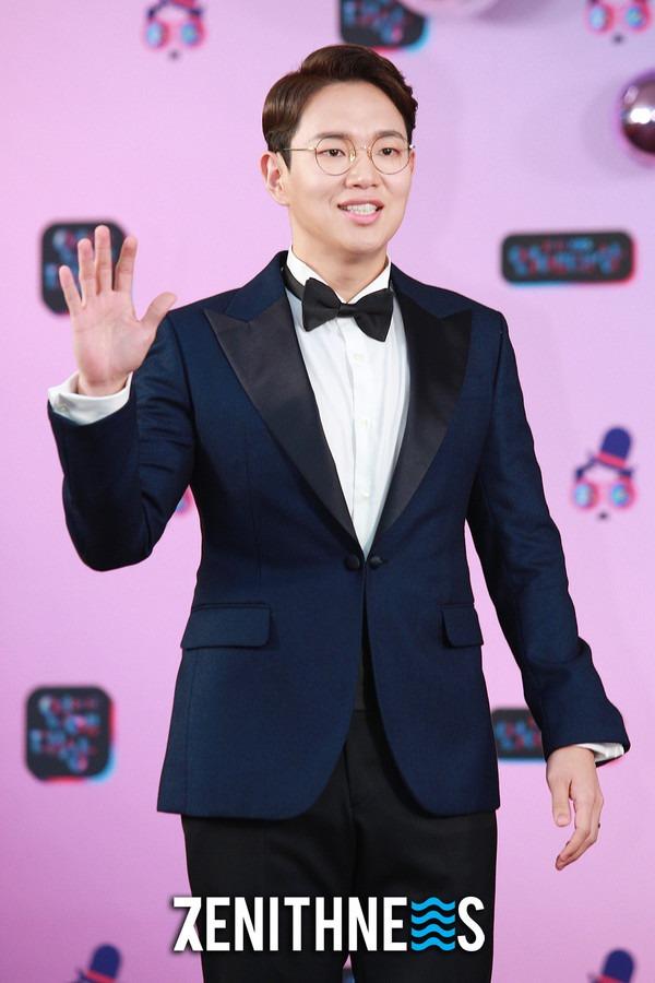 ▲ 장성규-김준현 '얼굴만 봐도 빵빵 터져요' (사진=문찬희 기자)
