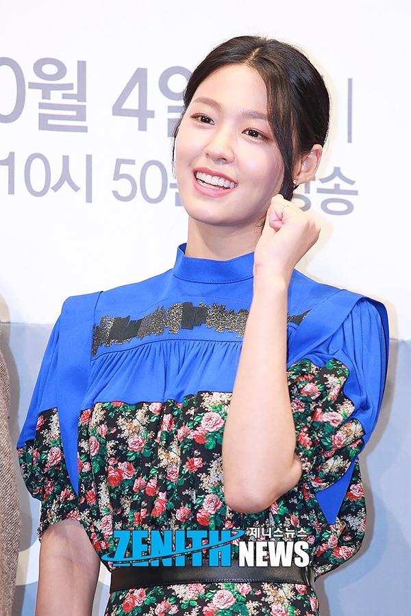 ▲ '나의 나라' 김설현 '걸크러시 만땅 떠려니♥' (사진=문찬희 기자)