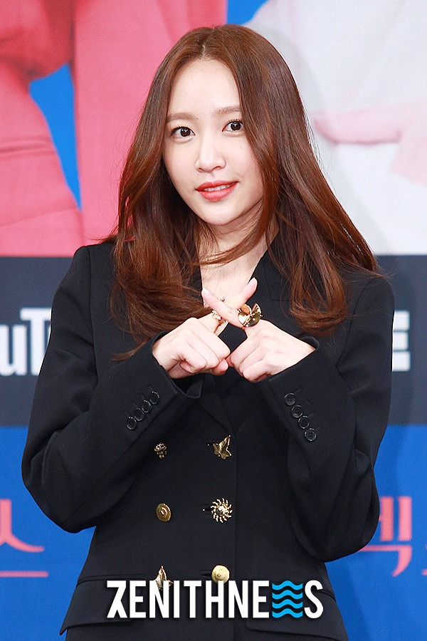 ▲ '엑스엑스' 하니 '첫 주연작이에요~' (사진=문찬희 기자)