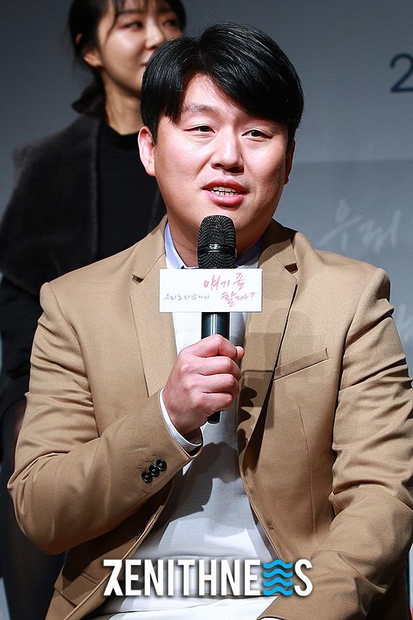 ▲ '노래방' 김민재-차용학 '얼굴에서 느껴지는 친근함' (사진=문찬희 기자)