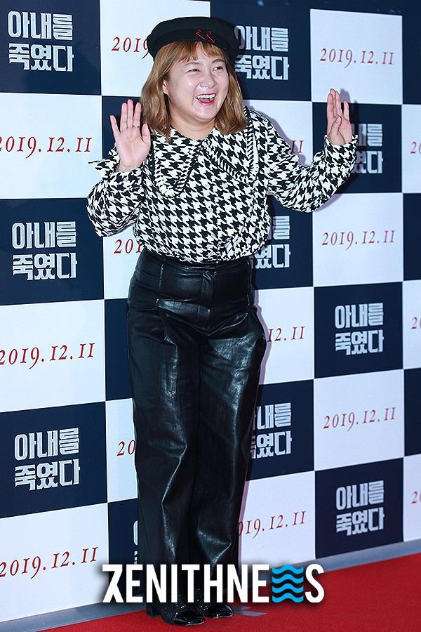 ▲ 한혜진-헨리-박나래 '1 얼간이 응원하러 무지개 회원 출석!' (사진=문찬희 기자)