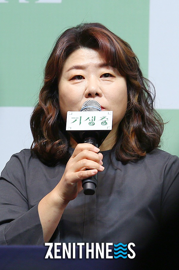 ▲ '기생충' 이정은-박명훈 '美친 연기력 보여준 두 배우' (사진=문찬희 기자)