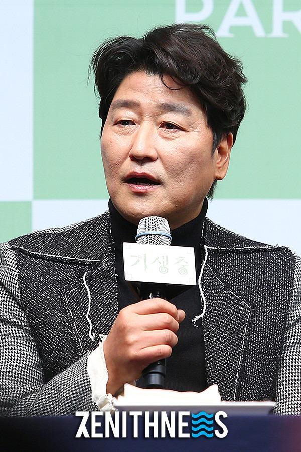 ▲ '기생충' 송강호-장혜진 '믿보배 총출동' (사진=문찬희 기자)