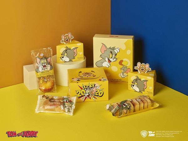 ▲ 파리바게뜨, '톰과 제리' 협업 신년 제품 출시... 제리 Pick! 치즈 담았다 (사진=파리바게뜨)