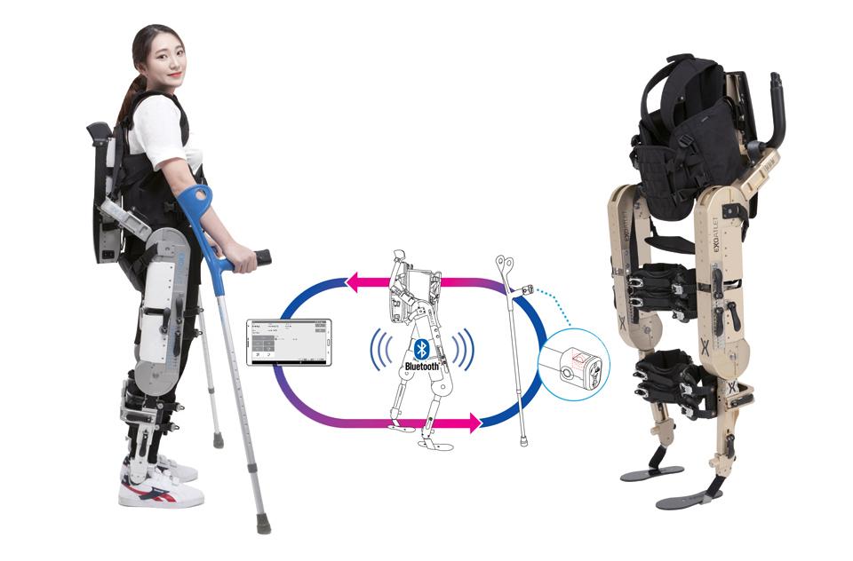 엑소아틀레트아시아의 '웨어러블 재활로봇(EAM)'