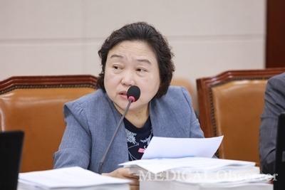국회 보건복지위원회 인재근 의원. ⓒ메디칼업저버 김민수 기자