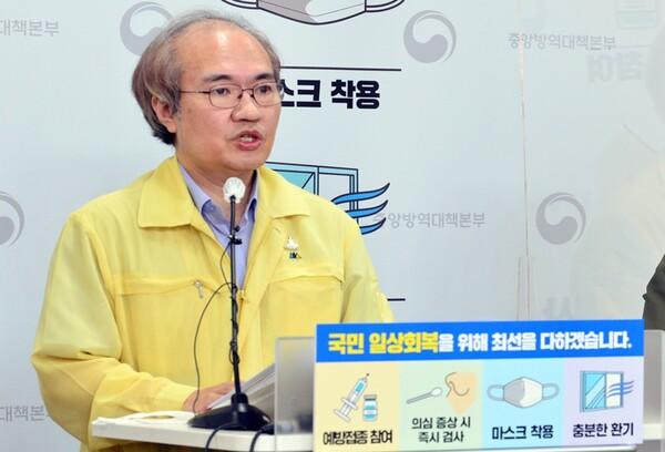 권준욱 방대본 2부본부장(질병청 국립보건연구원장)