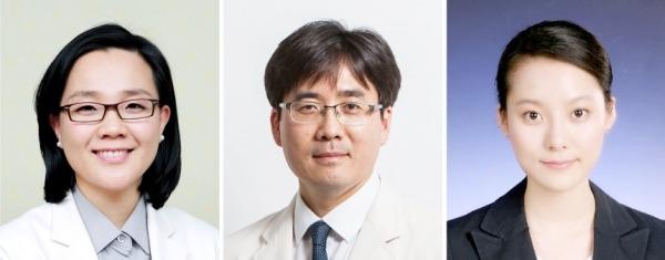 왼쪽부터 삼성서울병원 조주희(암교육센터), 김석진(혈액종양내과), 강단비(임상역학연구센터) 교수. (사진제공 : 삼성서울병원)