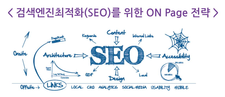 검색엔진최적화를 위한 ON Page 전략