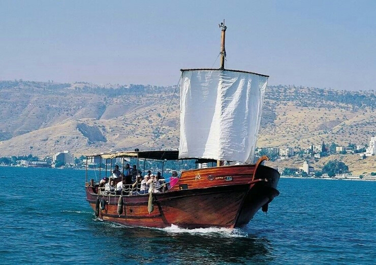 Image result for boat ride on the sea of galilee