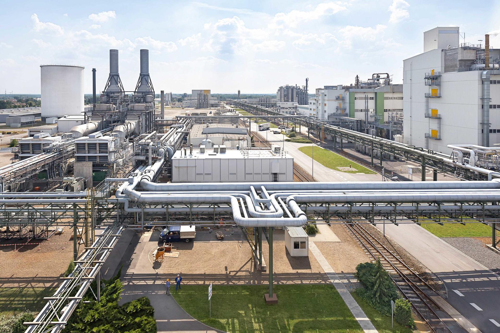 독일 라우지츠 지역에 위치한 바스프 슈바르츠하이데(Schwarzheide) 생산단지
