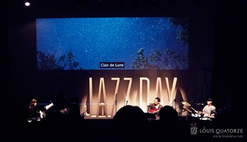 재즈가알고싶다 공연을 한 모습입니다. 마침 곡 제목이 달빛이네요.
