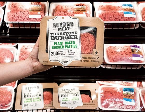 식물성 고기 제조업체인 비욘드 미트의 제품